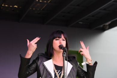 Phantogram Performs at Spotify House