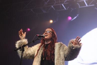 Ingrid Michaelson Performs at Austin Music Hall