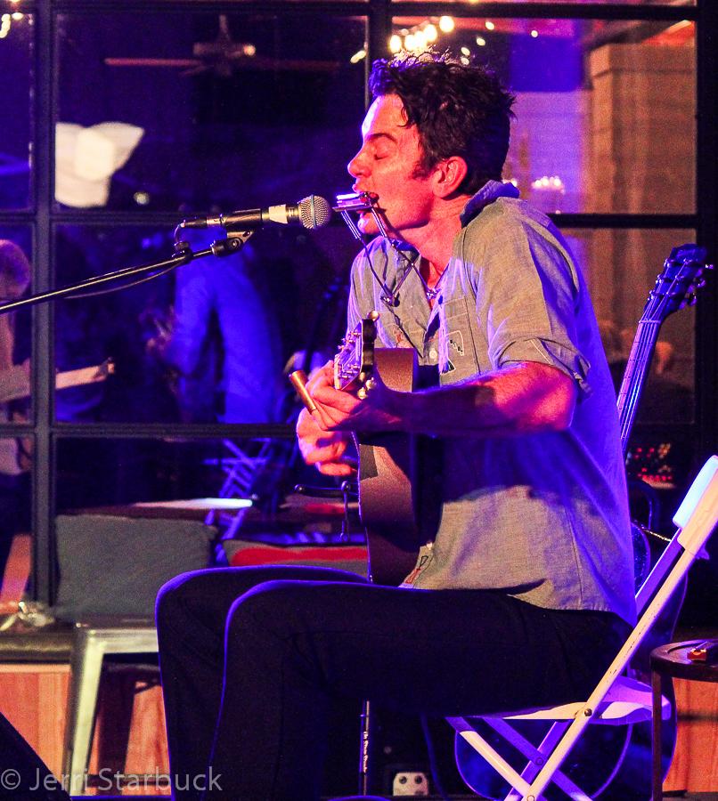 G. Love Performs Acoustic Set at the Deep Eddy VodkaDistillery