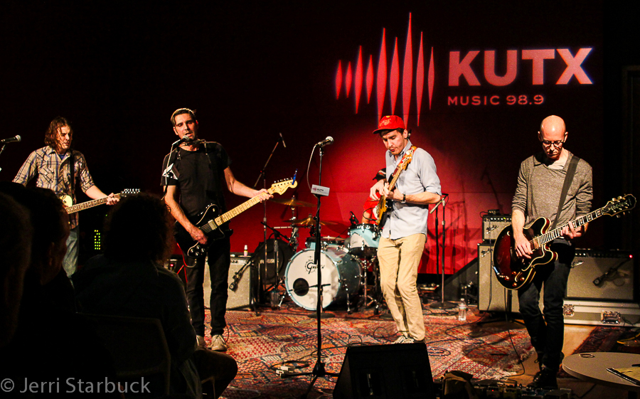 A.Sinclair Performs On-Air Session at KUTX Studios inAustin