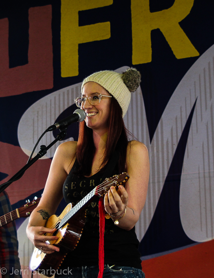Ingrid Michaelson Performs at KGSR BroadcastBBQ