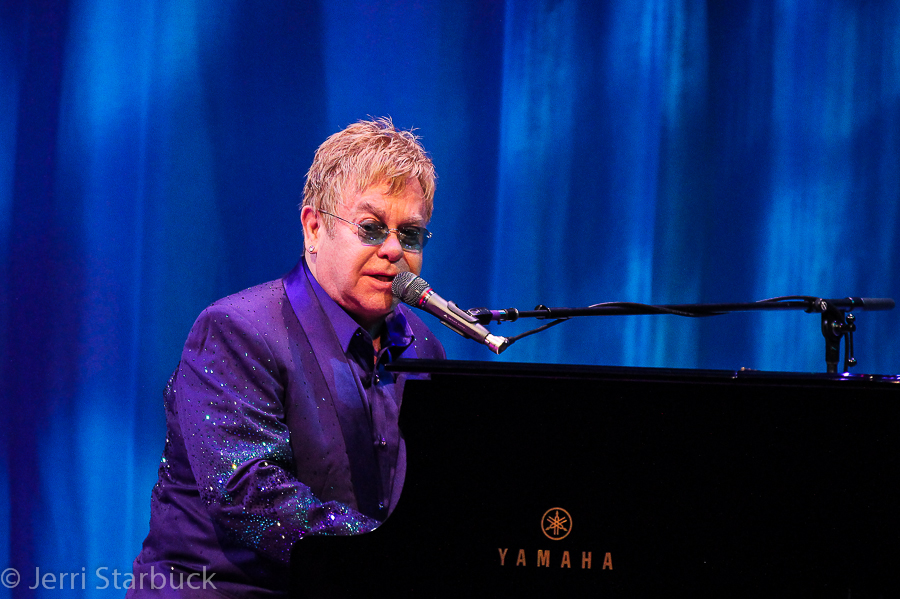 Sir Elton John Performs for The Andy Roddick Foundation at Austin CityLimits