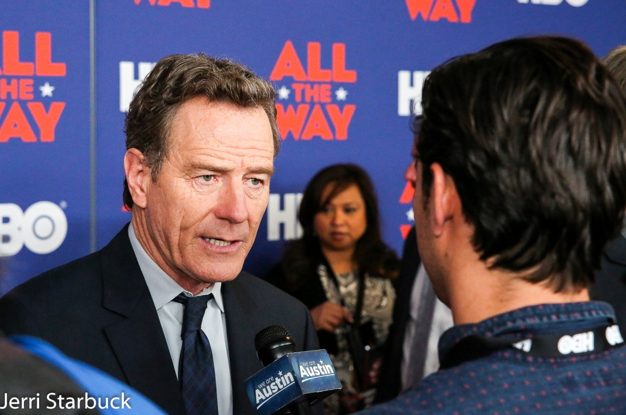 """Photo Gallery HBO's """"All The Way"""" Premier at Austin's LBJLibrary"""