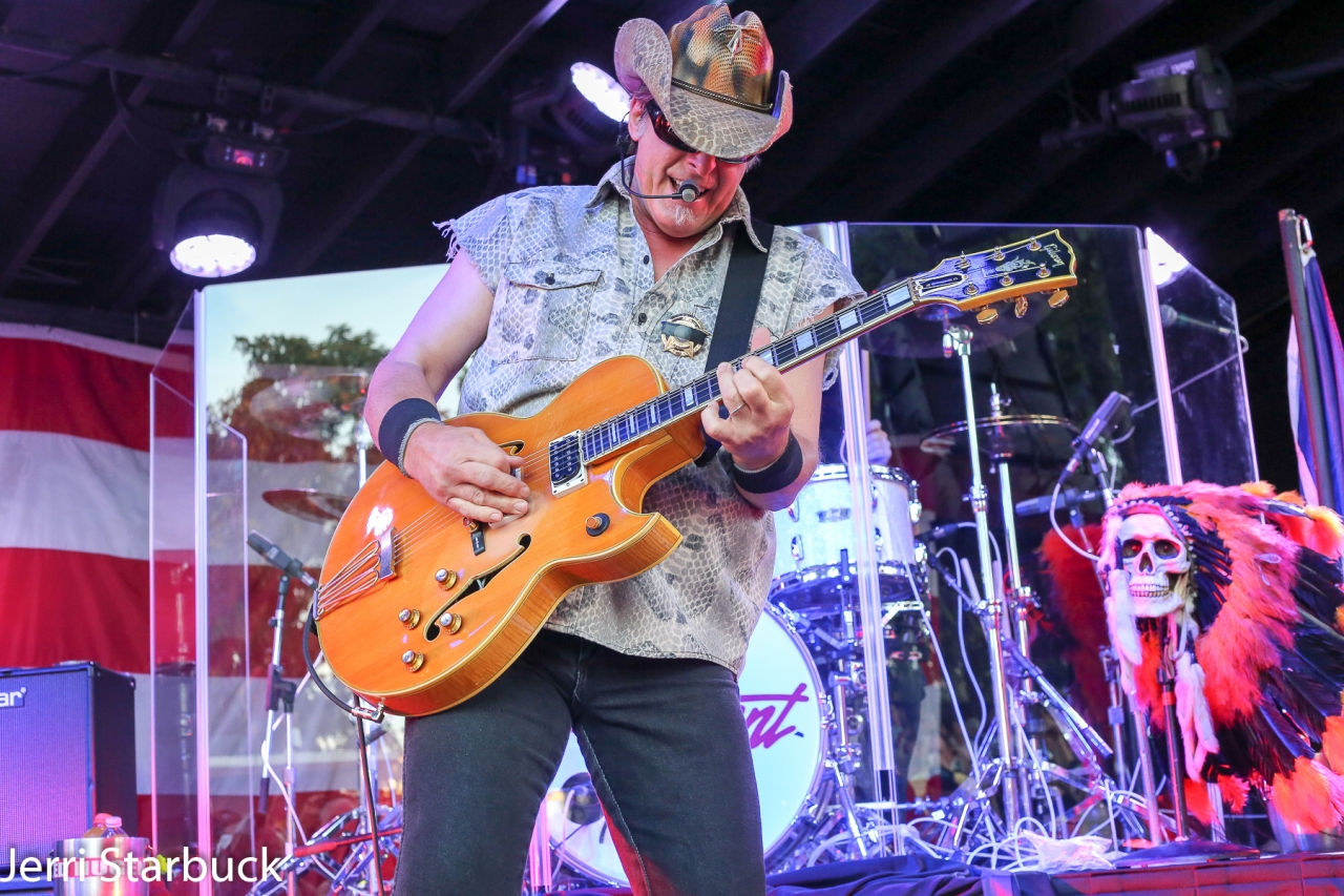Uncle Ted Nugent Gave Austin Passionate Rock'nRoll