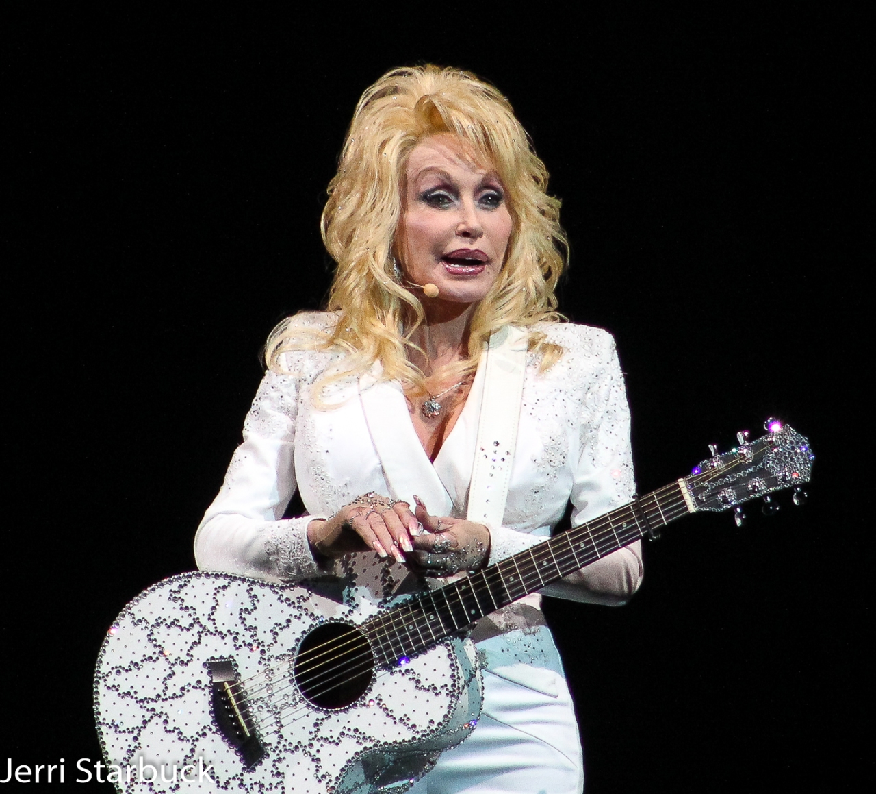 Dolly Parton Brought Glitter And Humor ToAustin