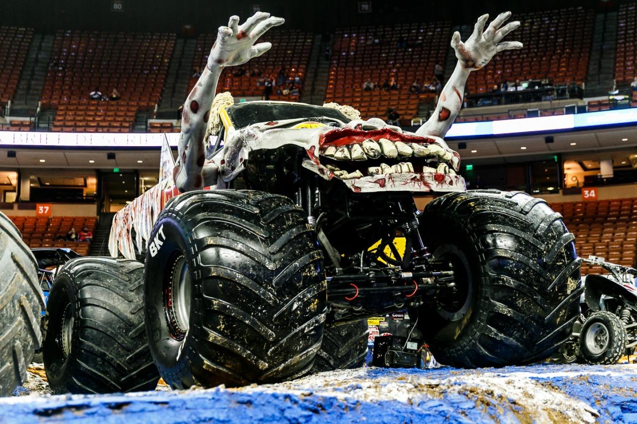 Monster Truck Jam Was Sick at Austin's Frank ErwinCenter