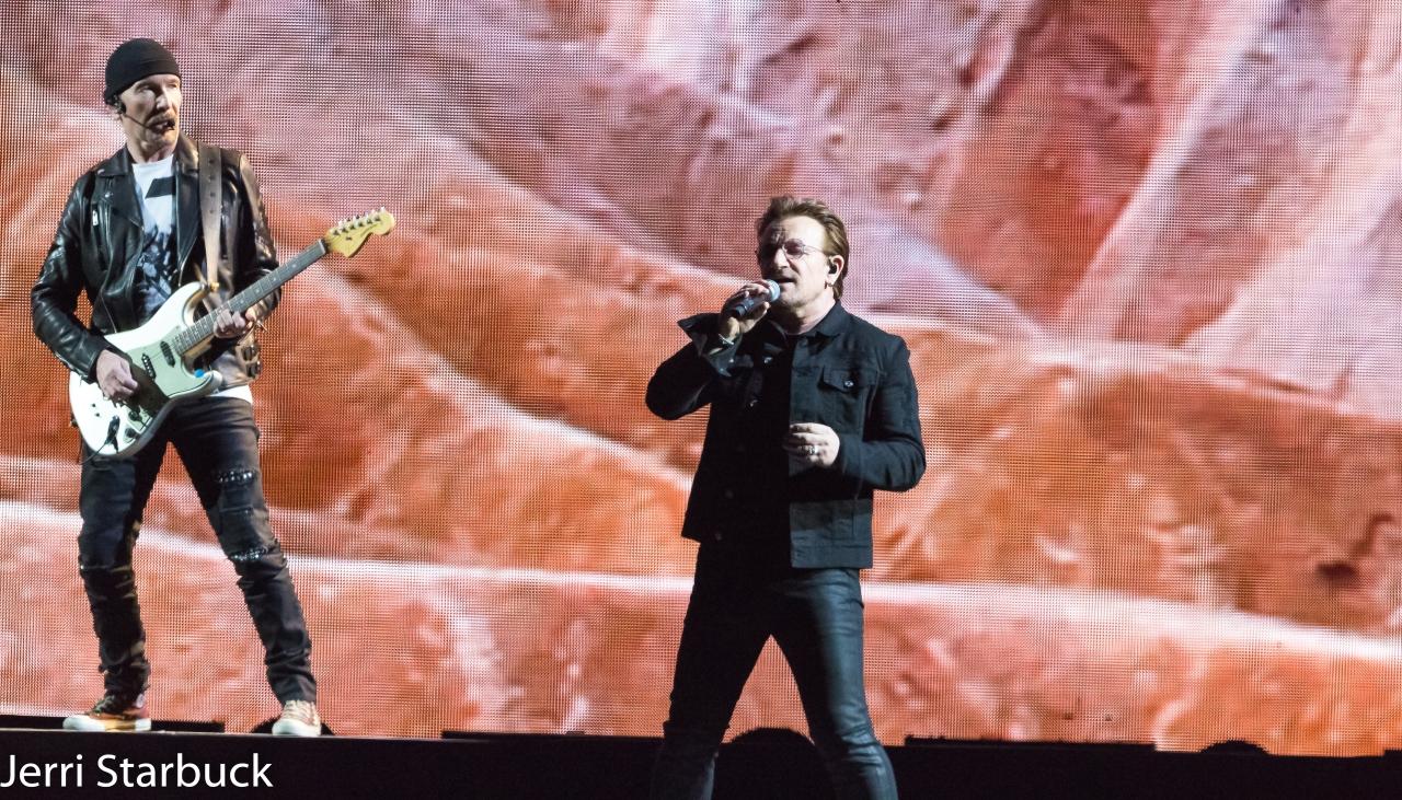U2 Joshua Tree Tour 2017 at HoustonNRG