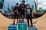 X-Games Day 1 7 Moto Shibata Jimmy Wilkins and Mitchie Brusco