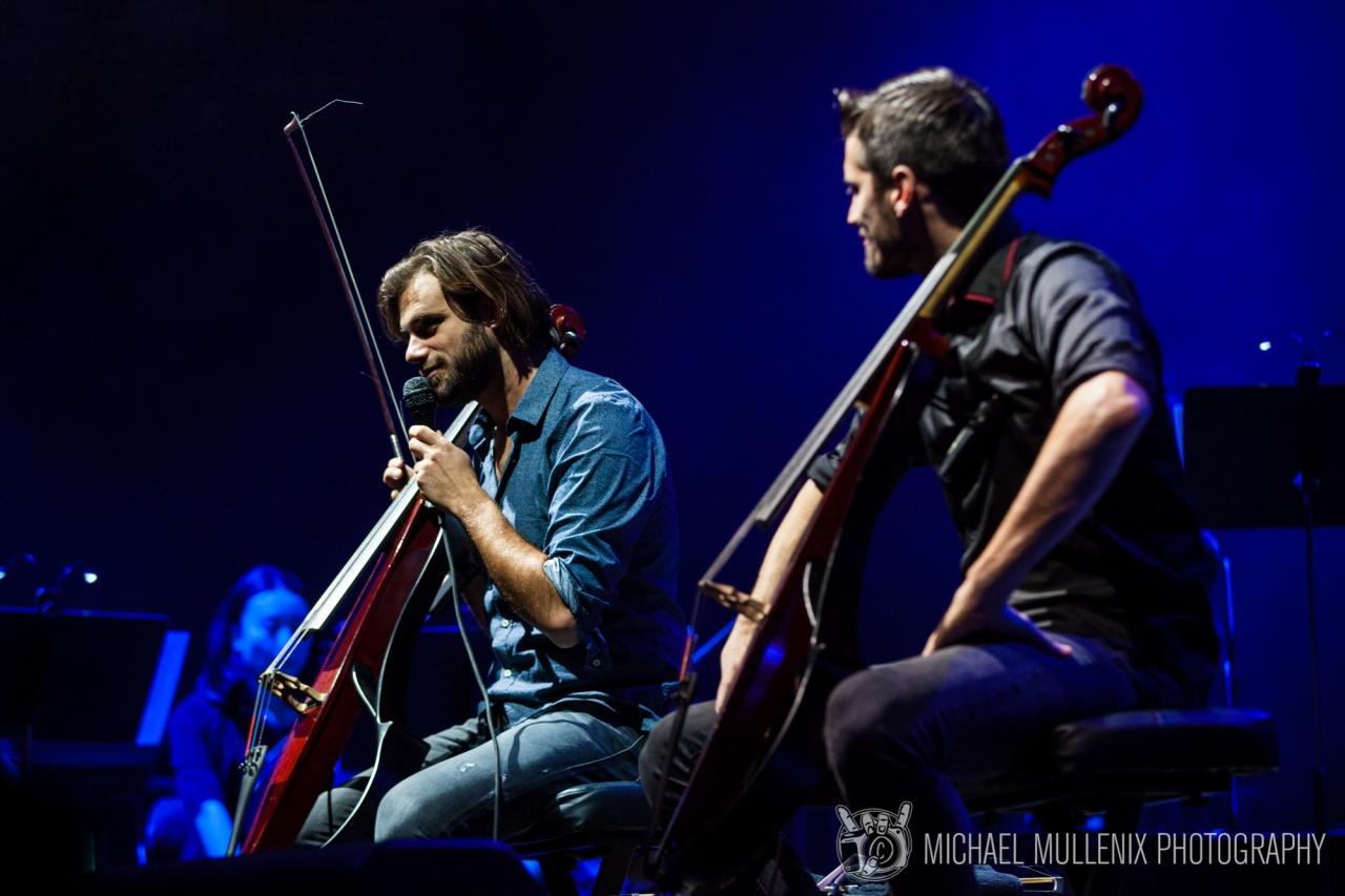 2 Cellos Rocked Austin's Frank ErwinCenter