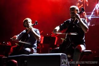 2 Cellos - Frank Erwin Center 2018 6
