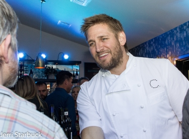 Curtis Stone at Australia House