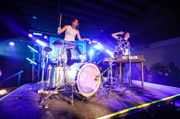 Matt and Kim at Antones