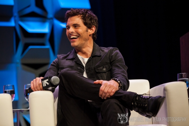 Westworld Panel - James Marsden