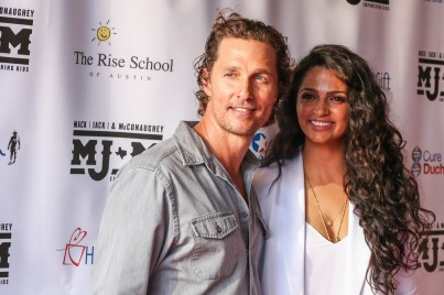Matthew McConaughey & Camilla AIves