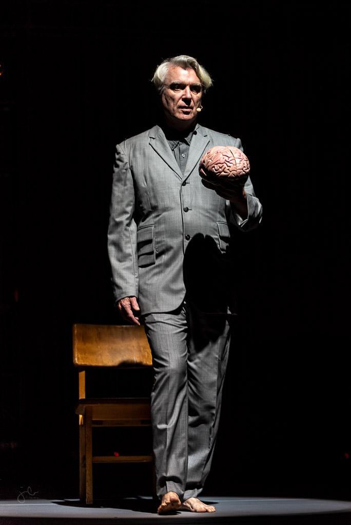 Legend David Byrne w/ Perfume Genius Concert PhotosHouston