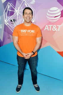 SALT LAKE CITY, UT - JULY 28: CEO of the Trevor Project Amit Paley attends 2018 LOVELOUD Festival Powered By AT&T at Rice-Eccles Stadium on July 28, 2018 in Salt Lake City, Utah. (Photo by Jerod Harris/Getty Images for LOVELOUD Festival)