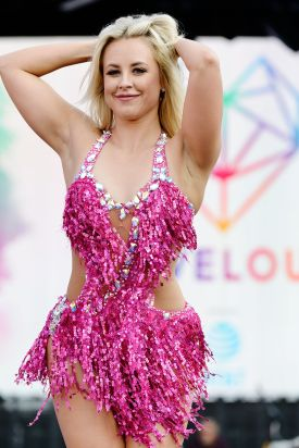 SALT LAKE CITY, UT - JULY 28: Chelsie Hightower performs at 2018 LOVELOUD Festival Powered By AT&T at Rice-Eccles Stadium on July 28, 2018 in Salt Lake City, Utah. (Photo by Jerod Harris/Getty Images for LOVELOUD Festival)