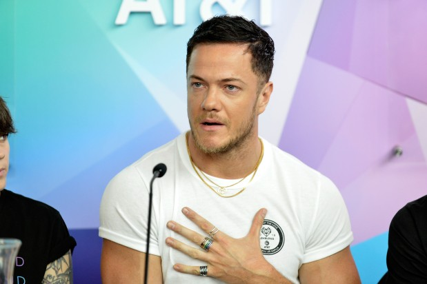 SALT LAKE CITY, UT - JULY 28: Dan Reynolds of Imagine Dragons attends 2018 LOVELOUD Festival Powered By AT&T at Rice-Eccles Stadium on July 28, 2018 in Salt Lake City, Utah. (Photo by Jerod Harris/Getty Images for LOVELOUD Festival)