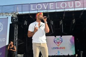 SALT LAKE CITY, UT - JULY 28: Jussie Smollet attends 2018 LOVELOUD Festival Powered By AT&T at Rice-Eccles Stadium on July 28, 2018 in Salt Lake City, Utah. (Photo by Jerod Harris/Getty Images for LOVELOUD Festival)