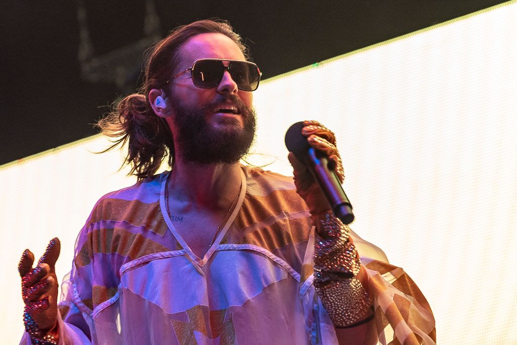 Thirty Seconds To Mars Jared Leto Concert PhotosHouston