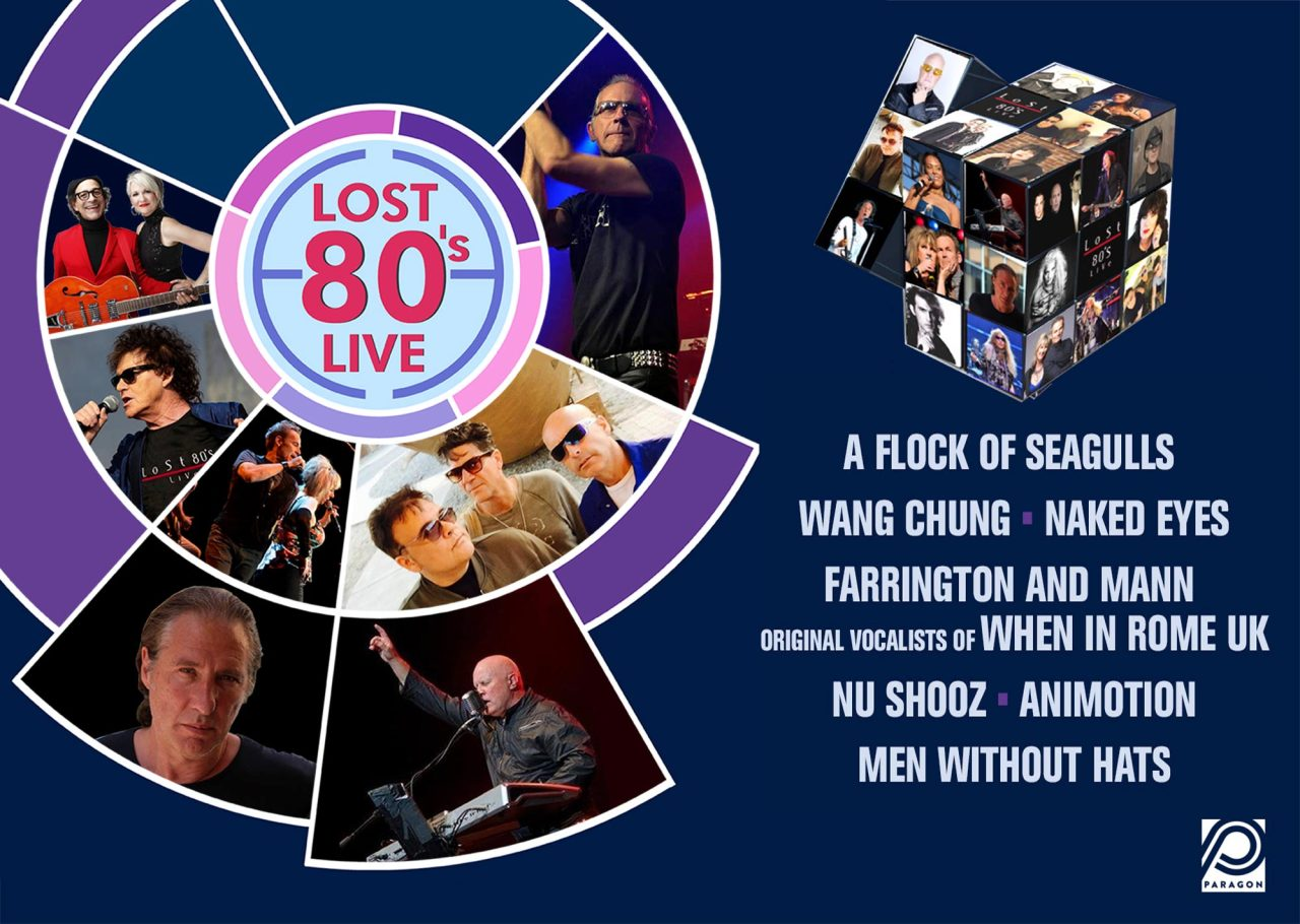A Flock of Seagulls, Wang Chung, & More Next Week at HEB Center 'Lost 80's' Show!
