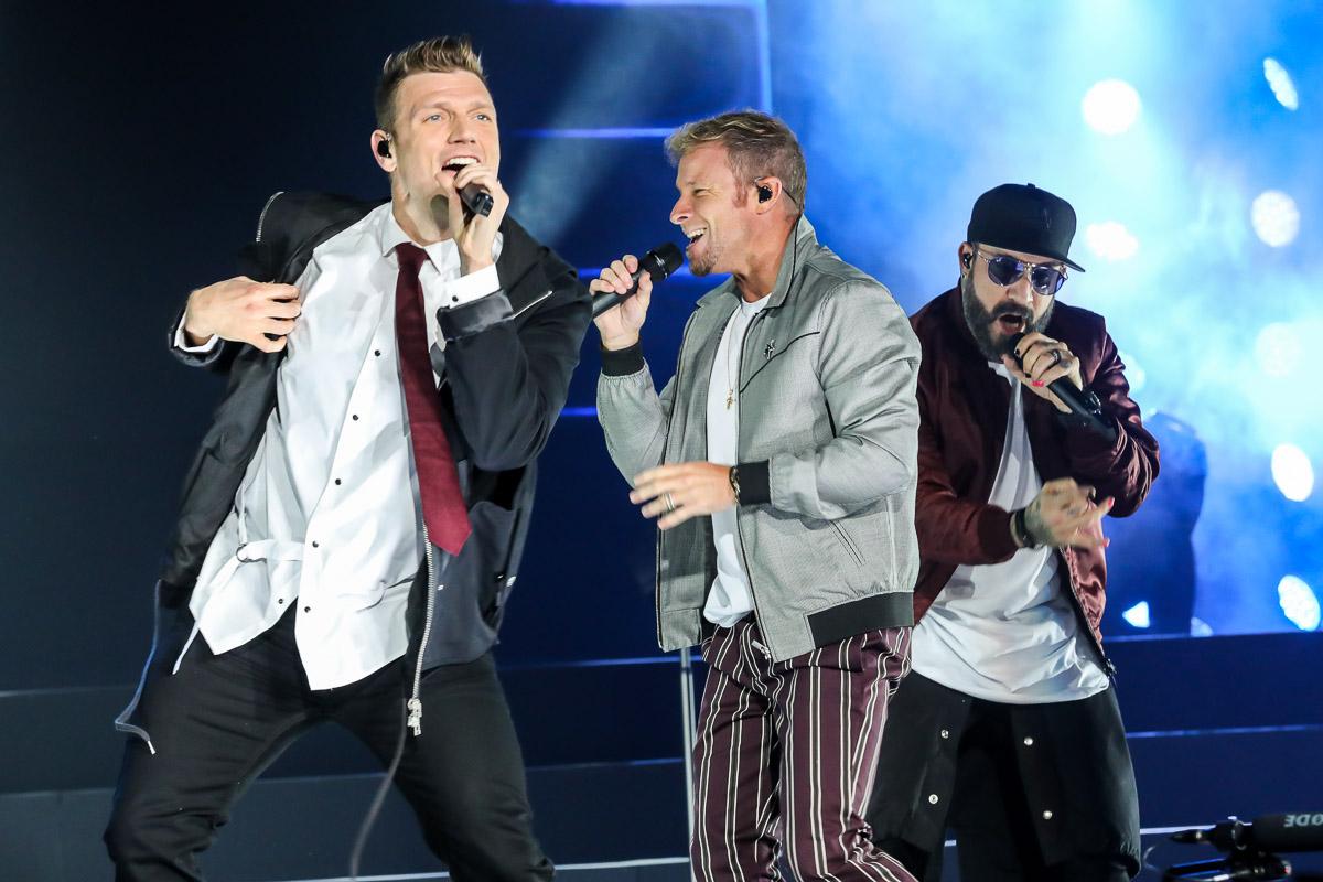 Backstreet Boys Concert Photos from Austin 2018Tour