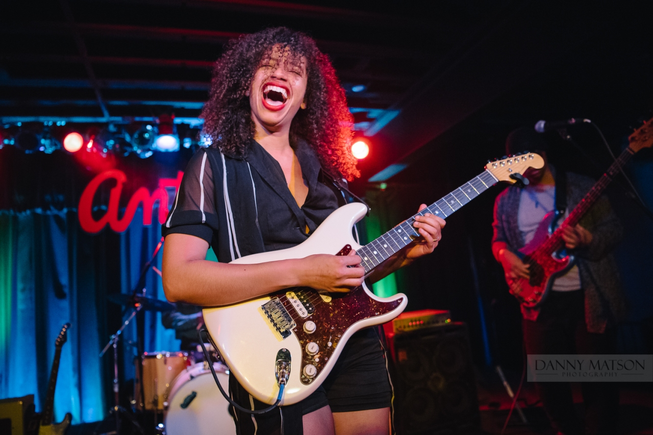 Austin's Jackie Venson at Antone's Night Club ConcertPhotos