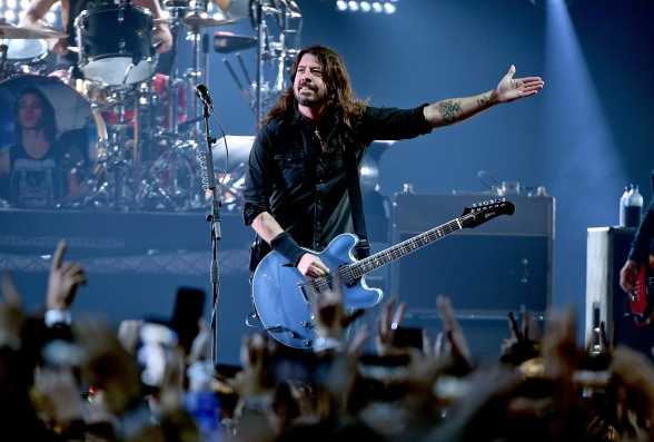 ATLANTA, GA - FEBRUARY 02: Dave Grohl of the Foo Fighters performs onstage at DIRECTV Super Saturday Night 2019 at Atlantic Station on February 2, 2019 in Atlanta, Georgia. (Photo by Theo Wargo/Getty Images for DIRECTV)