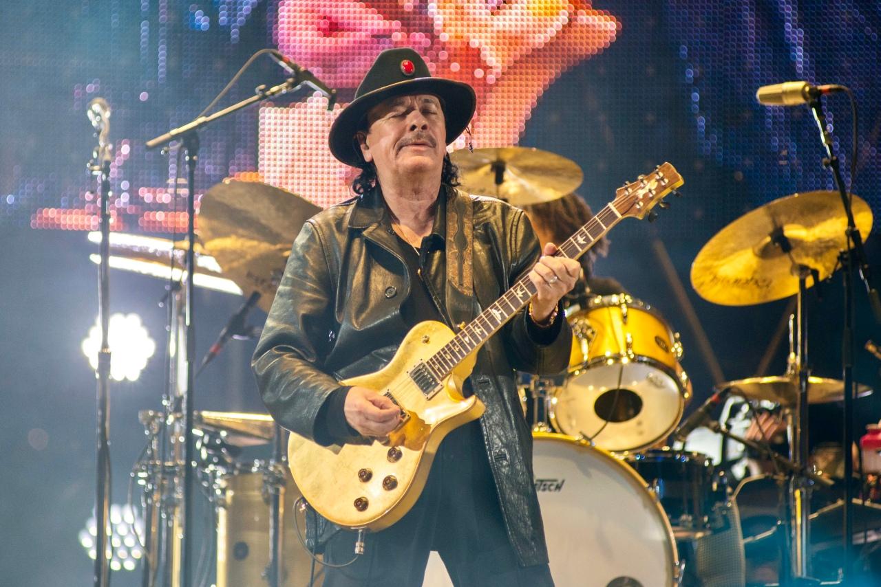 Carlos Santana Houston Rodeo ConcertPhotos