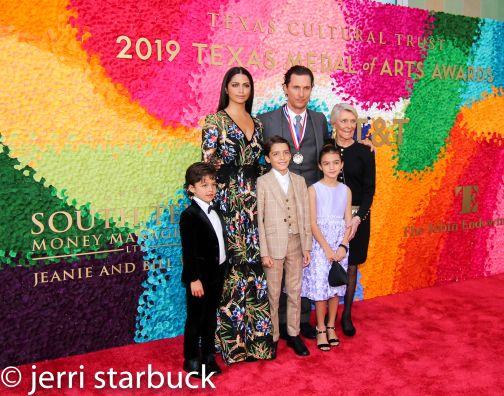 McConaughey family