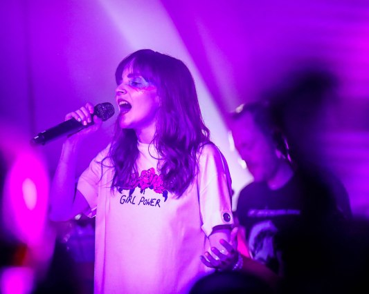 Chvrches at Cap One