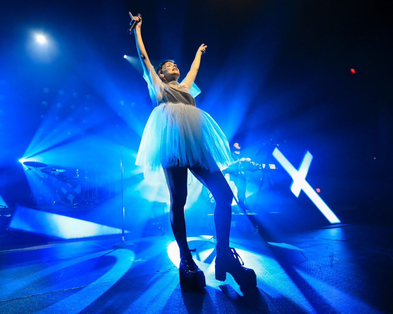Chvrches Returned to Austin with Cherry Glazerr at ACLLive