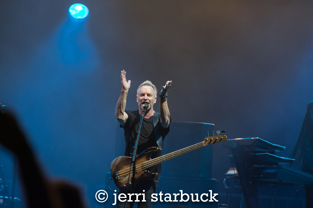 Sting Concert Photos from Dallas Cowboys AT&TStadium