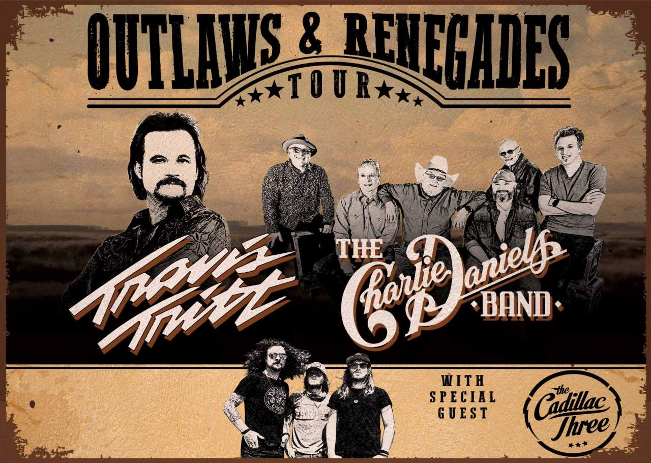 Legends Travis Tritt and Charlie Daniels Band Coming to Austin's HEBCenter