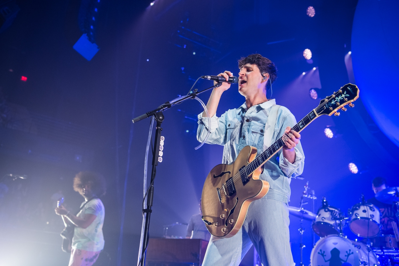 Vampire Weekend Returned to Austin For Three EnergeticShows