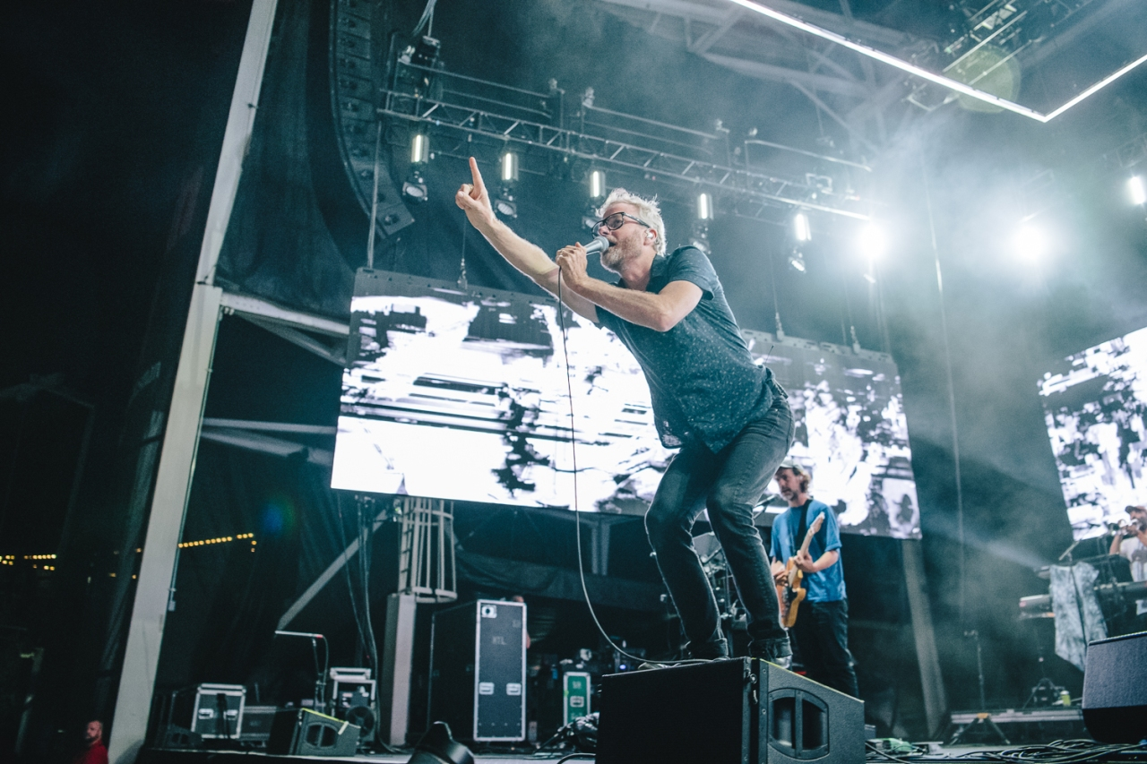 The National Braves The Storm At COTA ConcertReview