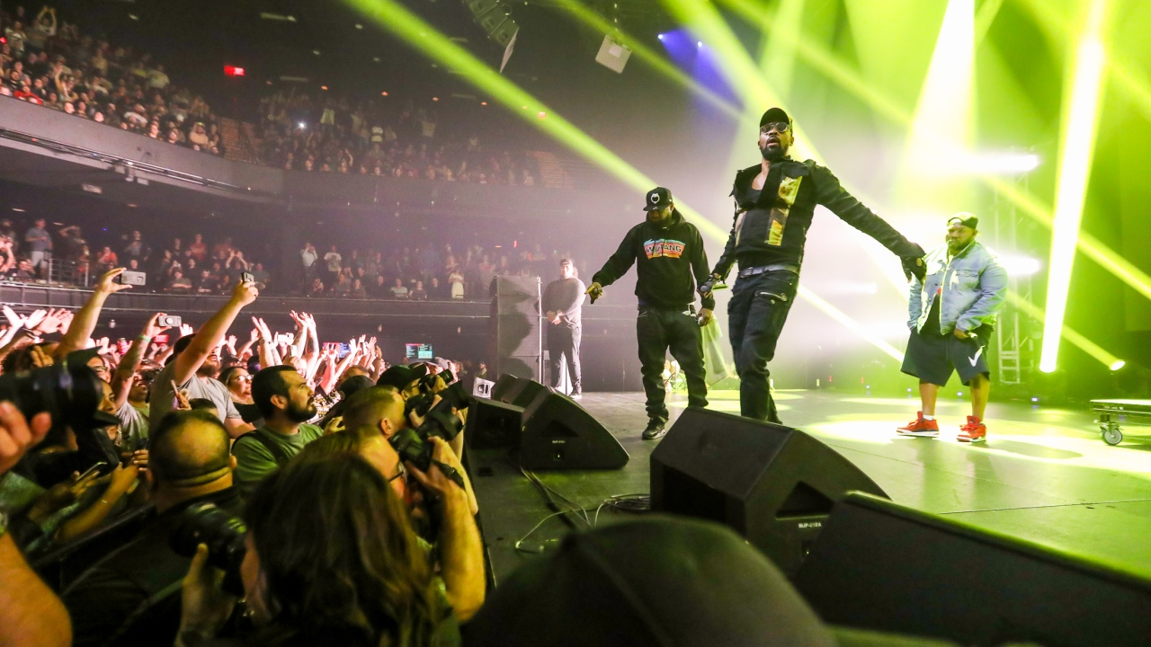 Legends Wu Tang Clan Lit at ACLLive