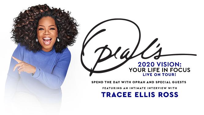 Oprah Winfrey Brings 2020 Tour toTexas