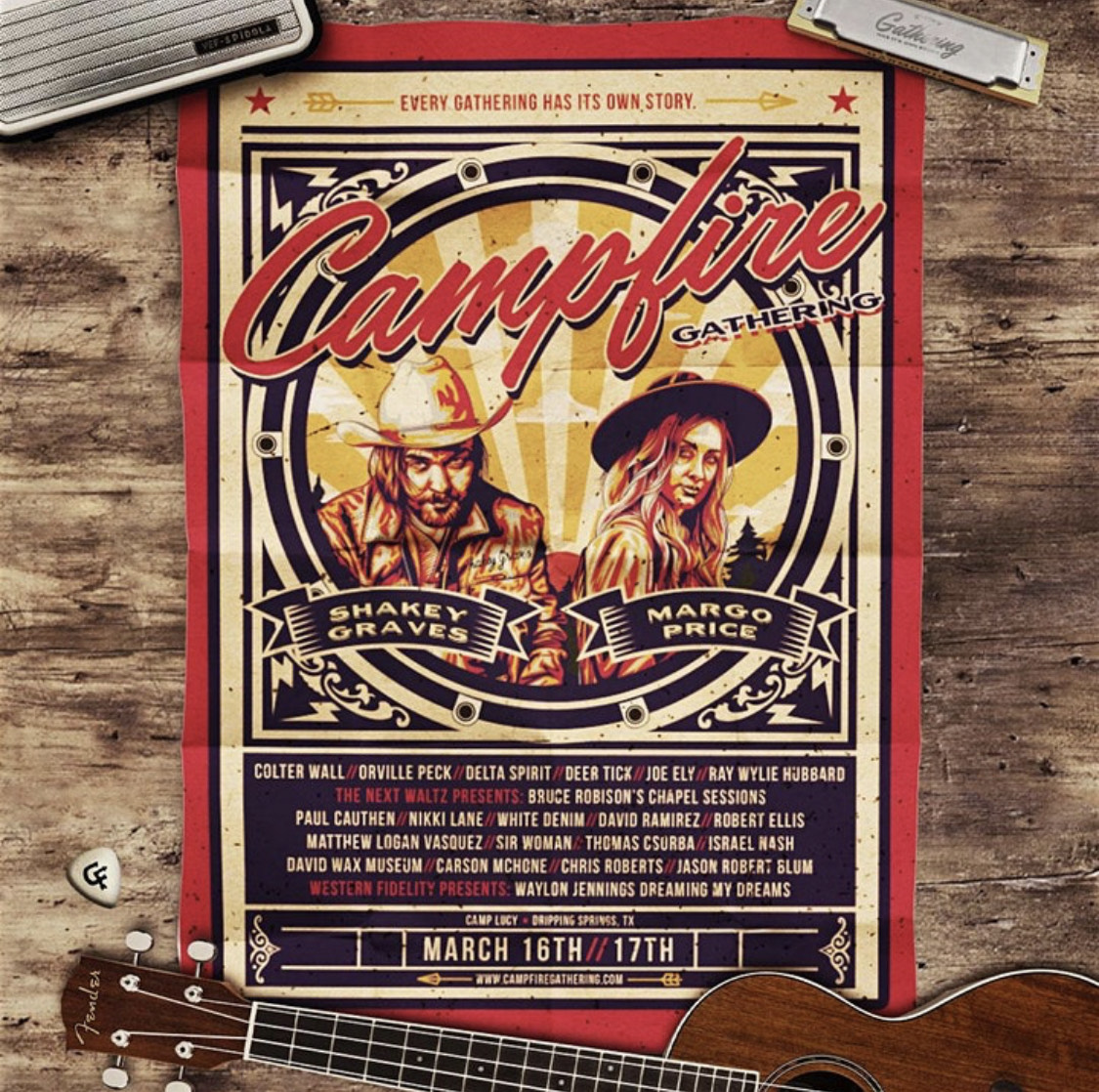 New 'Campfire Gathering' Music Festival in March NearAustin