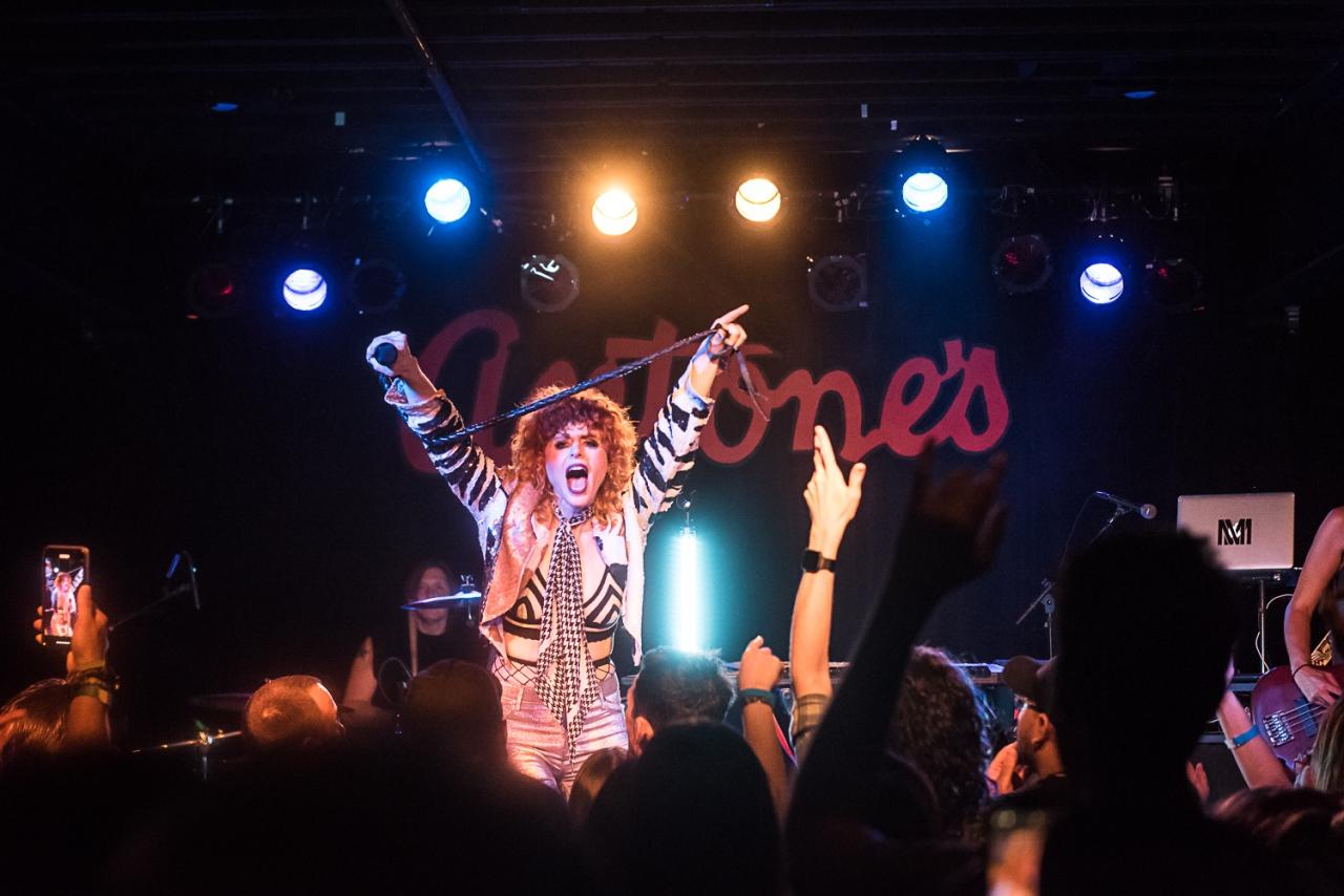 Antone's Kiesza LIVE from Austin ConcertPhotos
